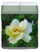 Rose From Home Duvet Cover