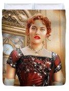 Rose From Titanic Duvet Cover