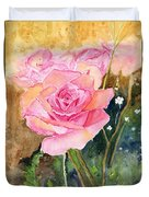 Rose Garden Duvet Cover
