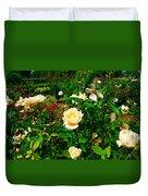 Rose Gardens Duvet Cover