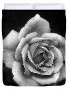 Rose In Mono. #flower #flowers Duvet Cover