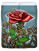 Rose N Thorns Duvet Cover