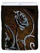 Rose Of Iron Duvet Cover