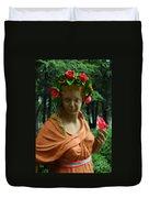 Rose Of The Garden Duvet Cover