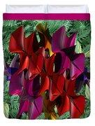 Rose Orchid Duvet Cover