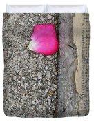 Rose Petal Duvet Cover