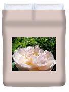 Rose Pink Sunlit Rose Flower Art Prints Baslee Troutman Duvet Cover