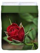 Rose Portrait  Duvet Cover