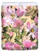 Rose Refraction Duvet Cover