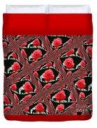Rose Tiles Duvet Cover