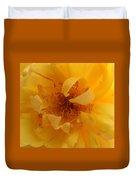 Rose Yellow Duvet Cover