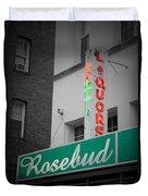 Rosebud Liquors Duvet Cover