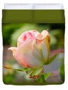 Rosebud Pale Pink Duvet Cover