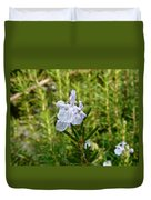 Rosemary Bloom Duvet Cover