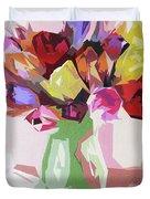 Rosemary's Tulips Duvet Cover
