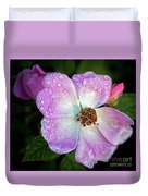 Roses After The Rain Duvet Cover