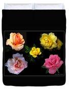 Roses Beautiful Duvet Cover