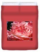 Roses Cinnamon Pink Rose Flowers 3 Rose Garden Art Baslee Troutman Duvet Cover