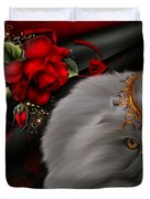 Roses For A Queen # 2 Duvet Cover