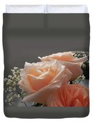 Roses Light Duvet Cover