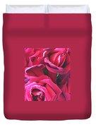 Roses Like Velvet Duvet Cover