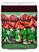 Roses Party Duvet Cover