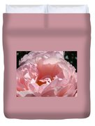 Roses Pink Rose Flower 2 Rose Garden Art Baslee Troutman Collection Duvet Cover