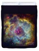 Rosette Nebula Ngc 2244 In Monoceros Duvet Cover