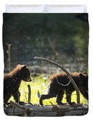 Rosie And Cubs Duvet Cover