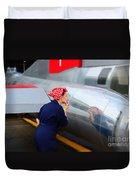 Rosie The Riveter Duvet Cover