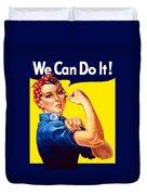 Rosie The Rivetor Duvet Cover