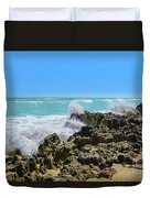 Ross Witham Beach Hutchinson Island Florida Duvet Cover