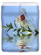 Rosy Reflection  Duvet Cover