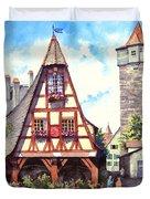 Rothenburg Memories Duvet Cover