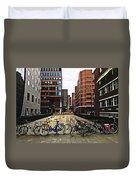 Rotterdam Architecture Duvet Cover