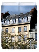 Rouen Half Timbered 22 Duvet Cover