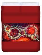 Rouge Duvet Cover
