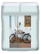 Rough Bike Duvet Cover