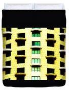 Round Balconies Duvet Cover