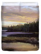 Round Pond Duvet Cover