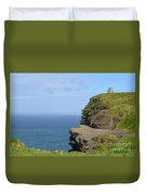 Round Stone Tower Refferred To As O'brien's Tower In Ireland Duvet Cover