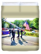 Round Top Vol. Fire Co. Inc. New York 1 Duvet Cover