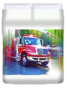 Round Top Vol. Fire Co. Inc. New York 6 Duvet Cover
