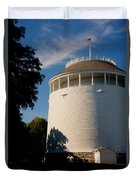 Round Water Tank In The Sun Duvet Cover