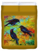 Roundtable Discussion - Crows Duvet Cover
