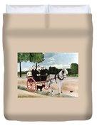 Rousseau: Cart, 1908 Duvet Cover
