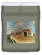 Rousseau: Factory, C1897 Duvet Cover