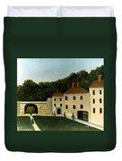 Rousseau:promenaders,c1907 Duvet Cover