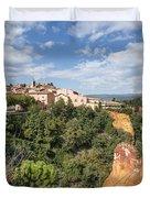 Roussilon Provence  Duvet Cover