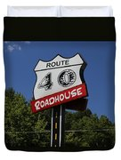 Route 40 Roadhouse Duvet Cover
